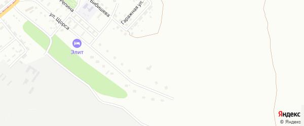 Территория ГПС Березки на карте Магнитогорска с номерами домов