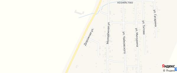 Дорожная улица на карте Приморского поселка с номерами домов