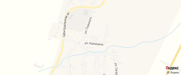 Улица Кирова на карте Приморского поселка с номерами домов