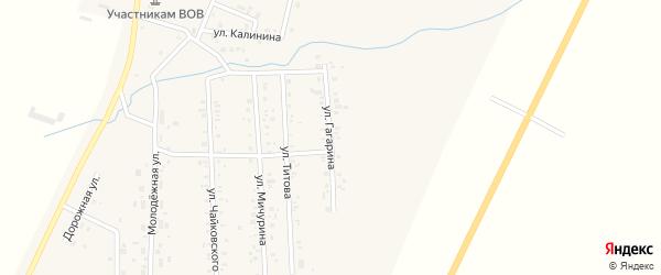 Улица Гагарина на карте Приморского поселка с номерами домов