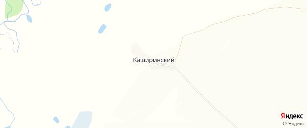 Карта Каширинского хутора в Челябинской области с улицами и номерами домов