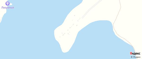 СНТ Березовая Роща на карте Приморского поселка с номерами домов