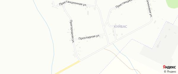 Прохладная улица на карте Магнитогорска с номерами домов