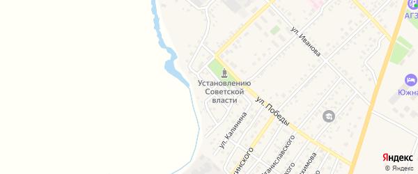 Улица Кирова на карте Верхнеуральска с номерами домов
