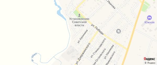 Улица Суворова на карте Верхнеуральска с номерами домов