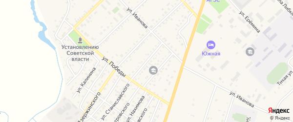 Степная улица на карте Верхнеуральска с номерами домов