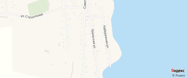 Уральская улица на карте Спасского поселка с номерами домов