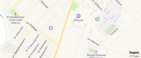Улица Иванова на карте Верхнеуральска с номерами домов