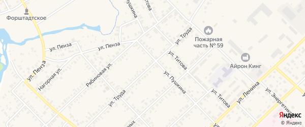 Улица Труда на карте Верхнеуральска с номерами домов