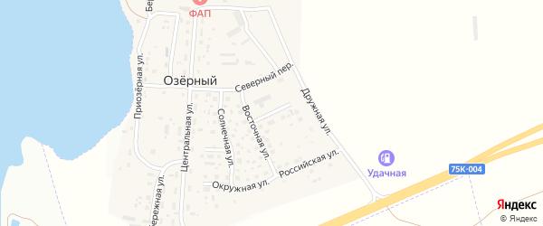 Радужная улица на карте Магнитогорска с номерами домов
