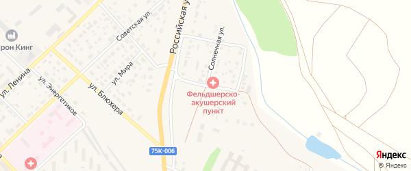 Магнитогорская улица на карте Верхнеуральска с номерами домов