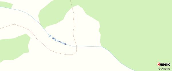 Территория ГК Дальний на карте Златоуста с номерами домов