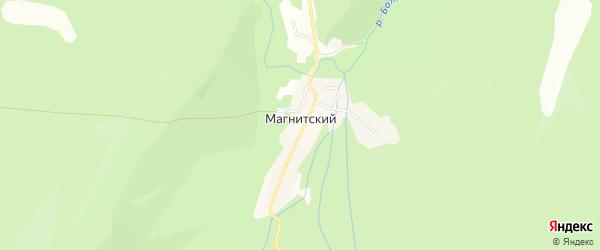 Карта Магнитского поселка в Челябинской области с улицами и номерами домов