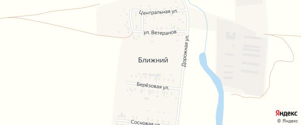 Полевая улица на карте Ближнего поселка с номерами домов