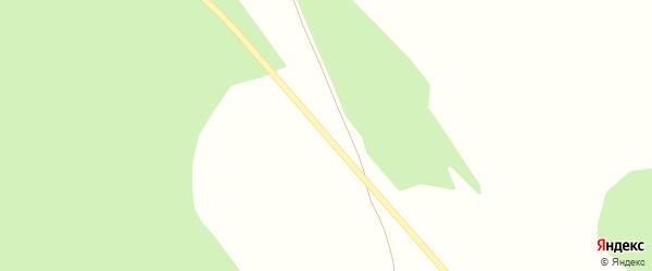 Дачная улица на карте железнодорожного разъезда Движенца с номерами домов