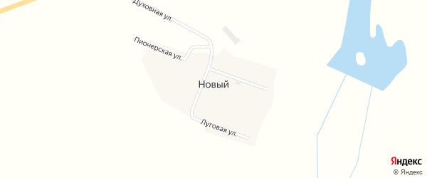 Духовная улица на карте Нового поселка с номерами домов