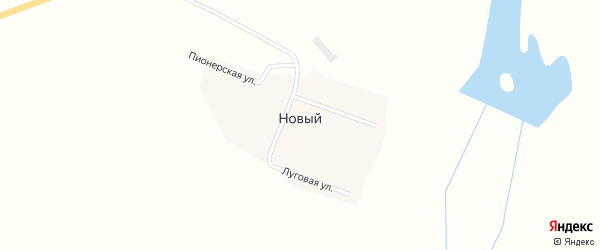 Советская улица на карте Нового поселка с номерами домов