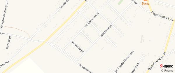 Сибирская улица на карте Учалы с номерами домов