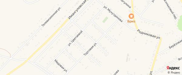 Улица Рамзили Хисаметдиновой на карте Учалы с номерами домов