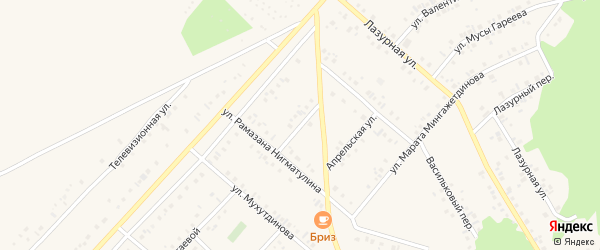 Улица Сайфи Кудаша на карте Учалы с номерами домов