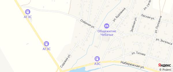Улица Старый квартал на карте Межозерного поселка с номерами домов