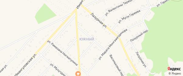 Улица Виля Гумерова на карте Учалы с номерами домов