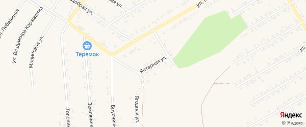 Янтарная улица на карте Учалы с номерами домов