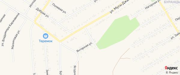 Переулок М.Джалиля на карте Учалы с номерами домов