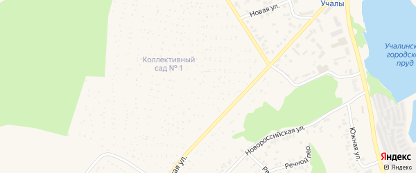Коллективный 20-й сад на карте Учалы с номерами домов