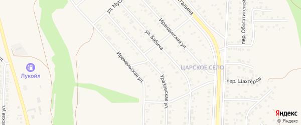 Уразовская улица на карте Учалы с номерами домов