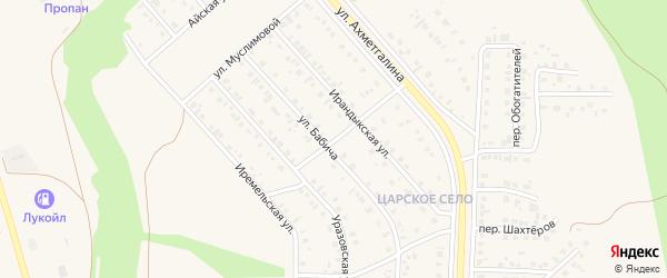 Улица Дружбы на карте Учалы с номерами домов