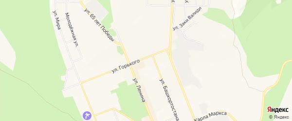 Коллективный сад N 23 на карте Учалы с номерами домов