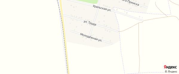 Молодежная улица на карте Межозерного поселка с номерами домов