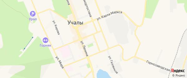 СНТ N3 на карте улицы Муртазина с номерами домов