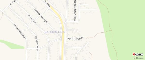 Цветочный переулок на карте Учалы с номерами домов