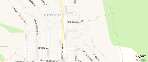 Переулок Автомобилистов на карте Учалы с номерами домов