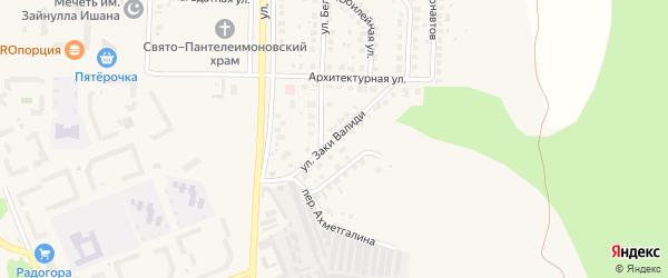Улица Валиди на карте Учалы с номерами домов