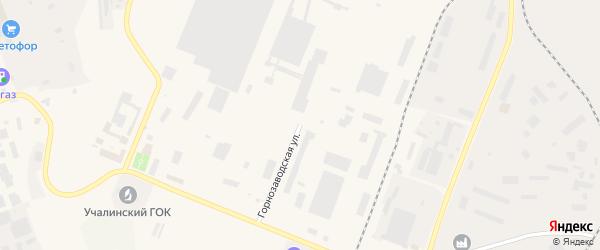 Горнозаводская улица на карте Учалы с номерами домов