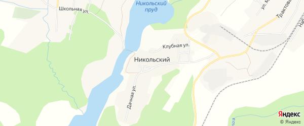 Карта Никольского поселка в Челябинской области с улицами и номерами домов