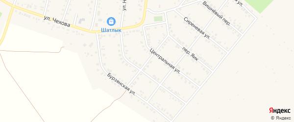Аэродромная улица на карте Учалы с номерами домов