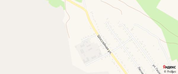 Сосновый переулок на карте Учалы с номерами домов