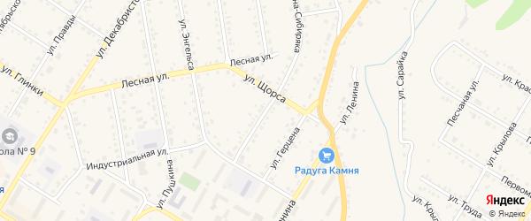 Улица Карла Маркса на карте Кусы с номерами домов