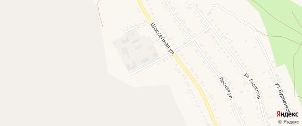 Фабричный переулок на карте Учалы с номерами домов