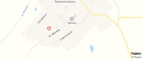 Советская улица на карте поселка Пути Октября с номерами домов