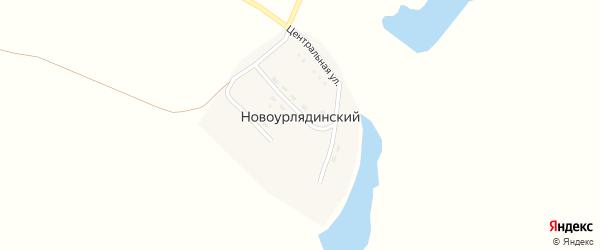 Степная улица на карте Новоурлядинского поселка с номерами домов