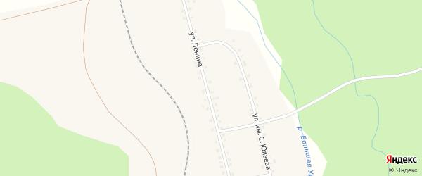 Набережная улица на карте деревни Морозовки с номерами домов