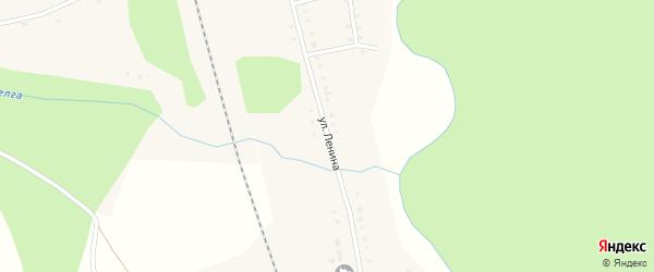 Улица им В.И.Ленина на карте села Ургалы с номерами домов