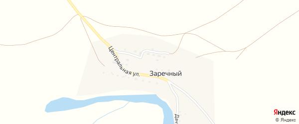 Молодежная улица на карте Заречного поселка с номерами домов