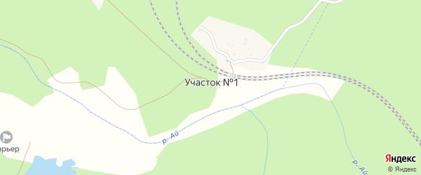 1-й участок на карте села Медведевки с номерами домов