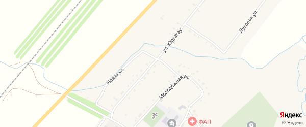 Улица Юргатау на карте села Ильчино с номерами домов